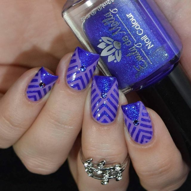 Whats Up Nails - Art Deco Stencils | Whats Up Nails