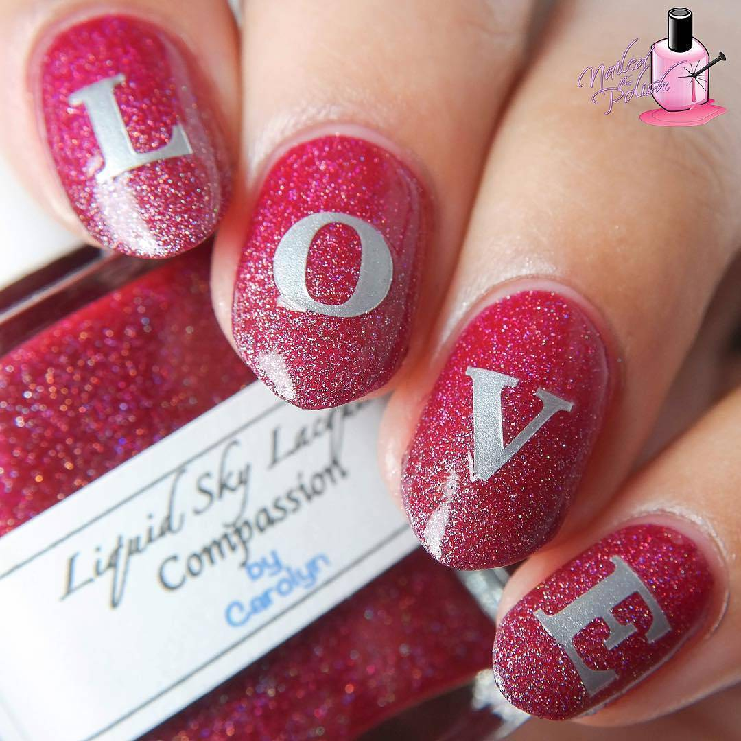 Whats Up Nails - Love Letters Stencils | Whats Up Nails