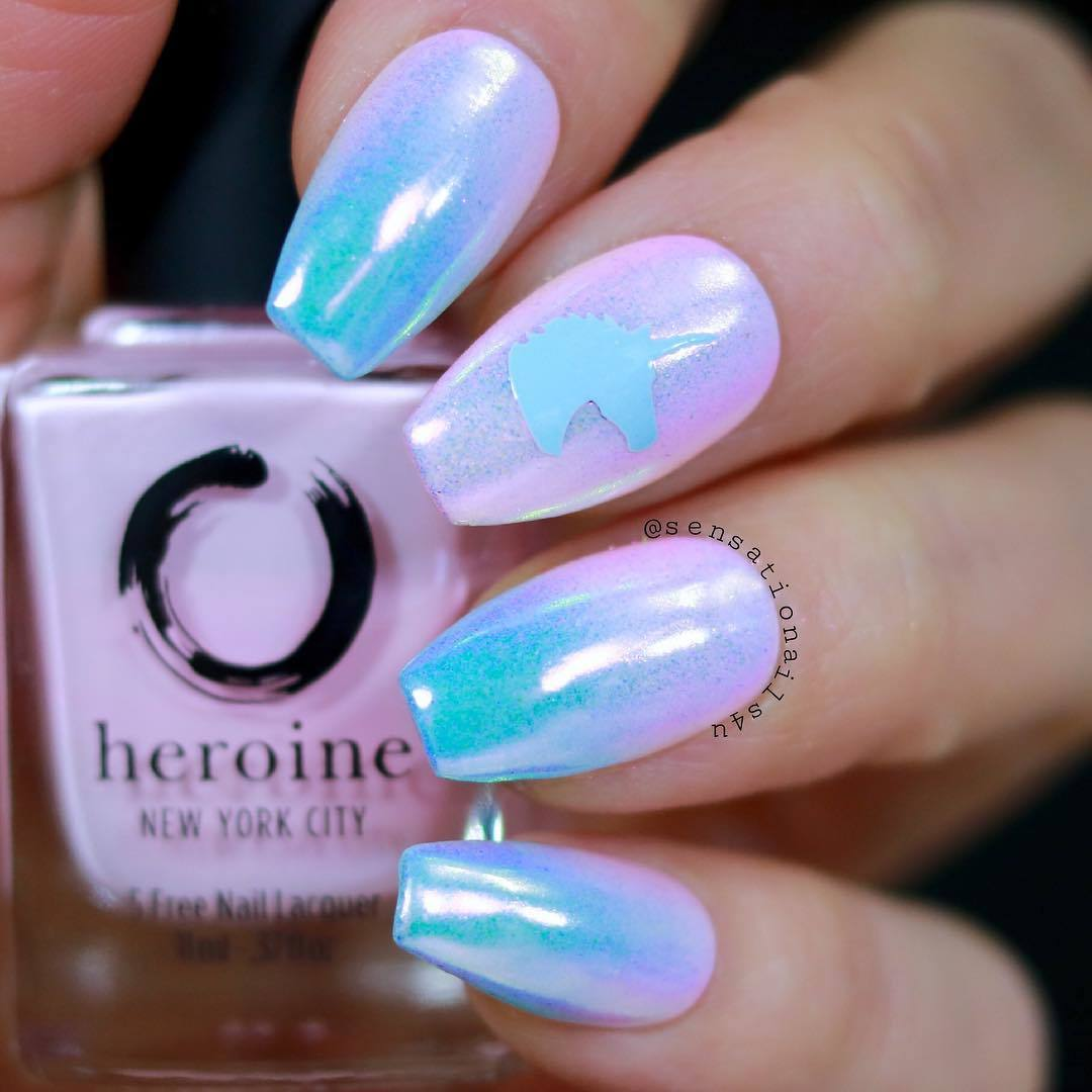 Unicorn Head Nail Stencils and Stickers | Whats Up Nails