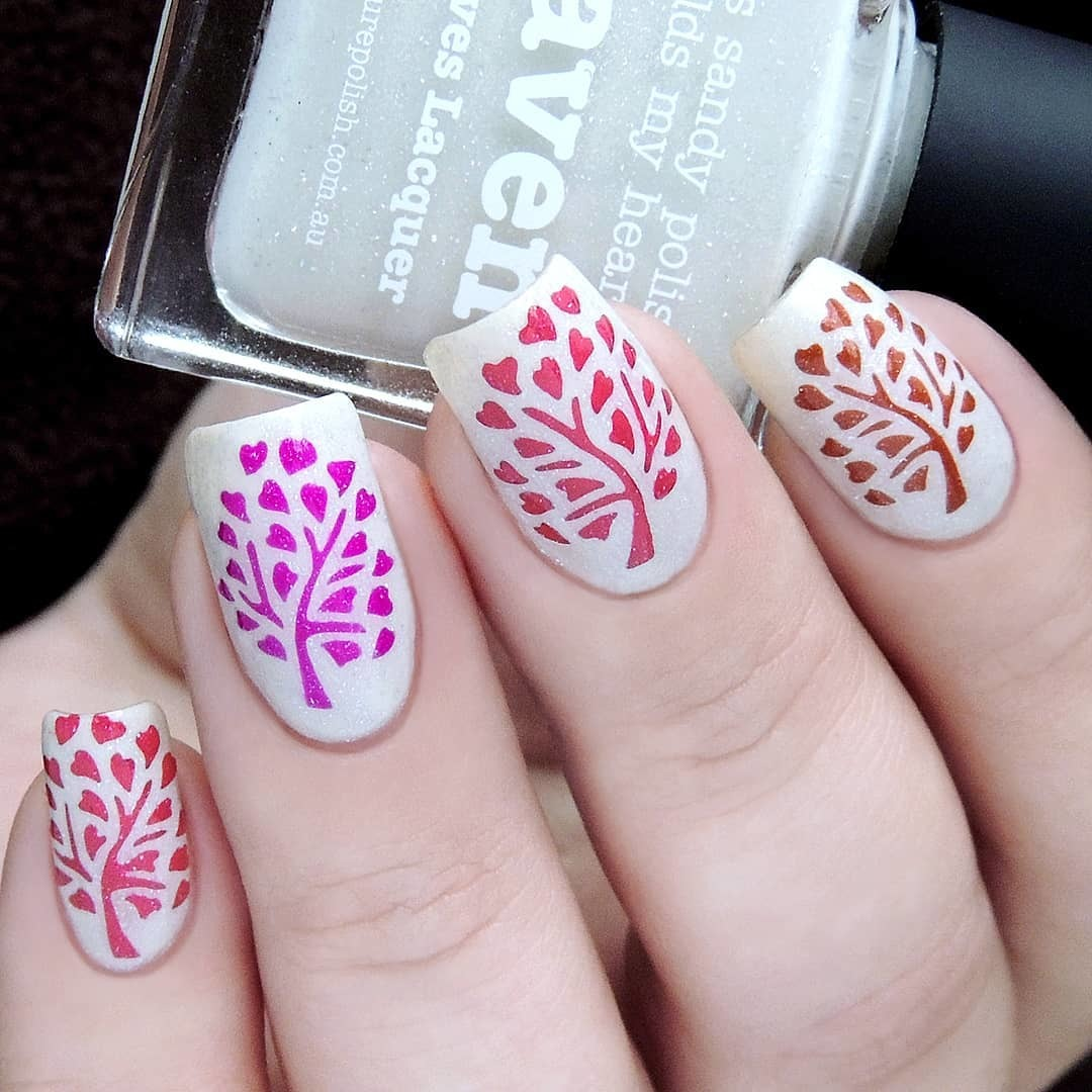 Tree of Love Nail Stencils and Stickers | Whats Up Nails