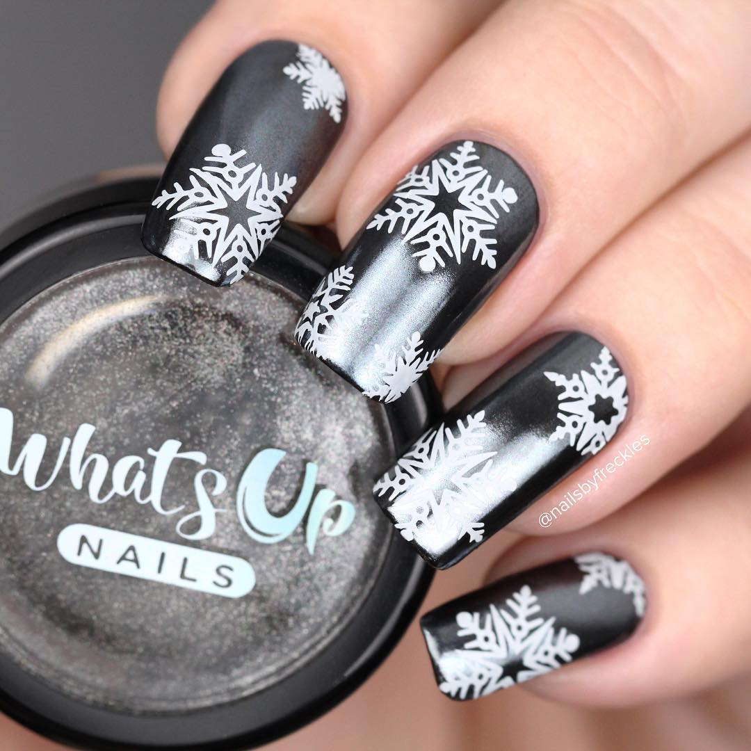 Whats Up Nails - Black Chrome Powder | Whats Up Nails