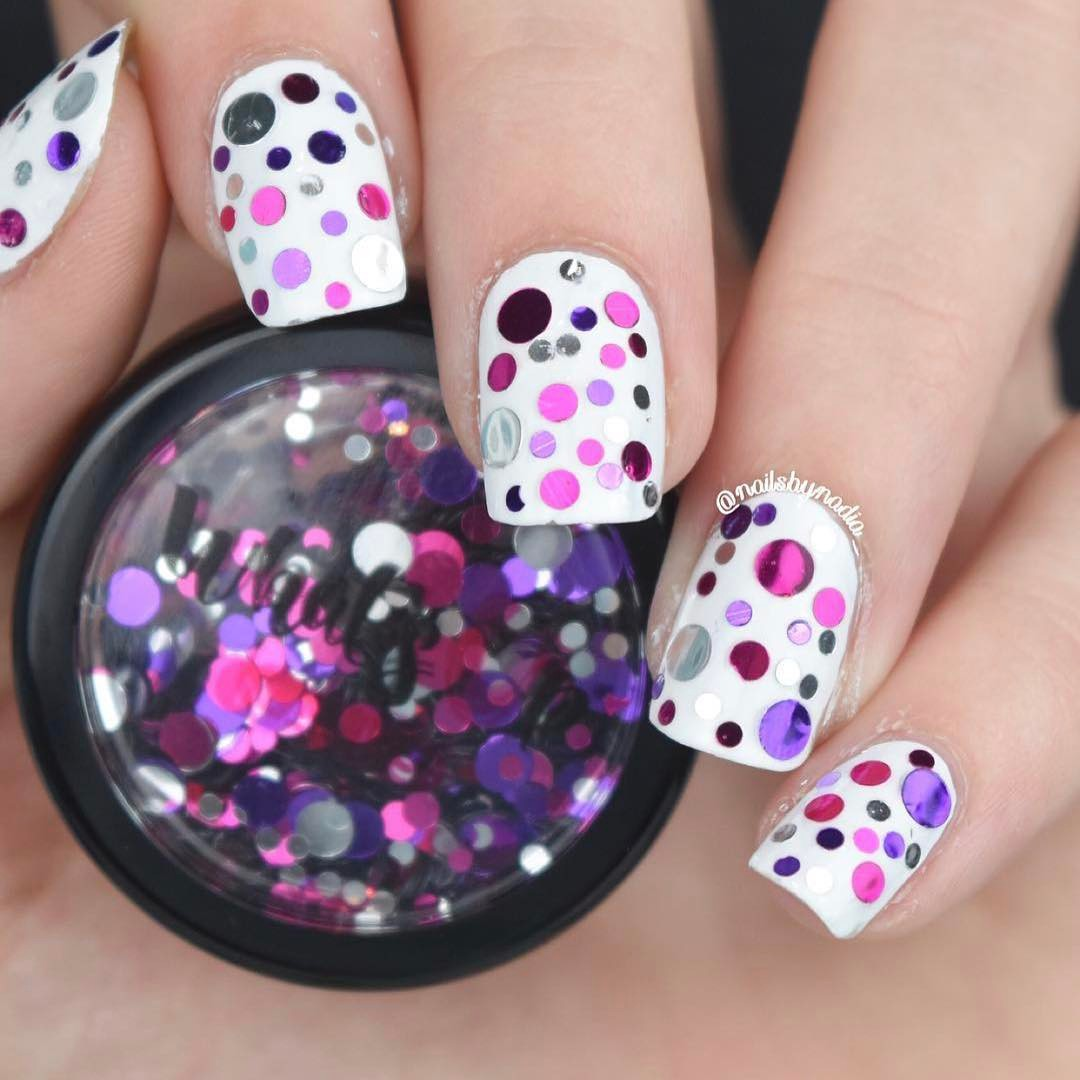 Whats Up Nails - Berries Confetti | Whats Up Nails