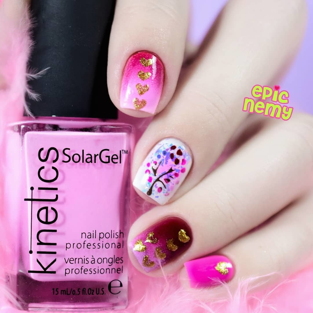 Heart Stack Nail Stencils and Stickers | Whats Up Nails