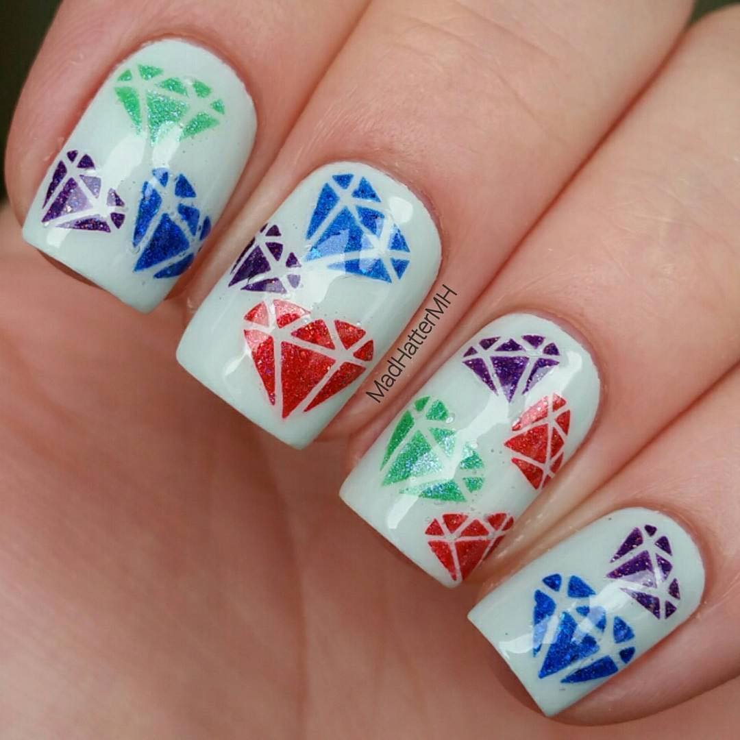 Whats Up Nails - Diamond Gemstone Stencils | Whats Up Nails