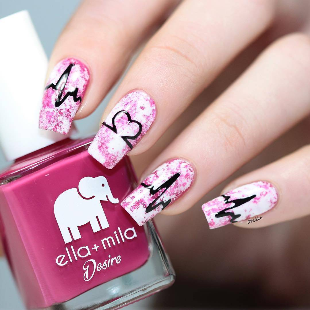Whats Up Nails - Heartbeat Stencils | Whats Up Nails